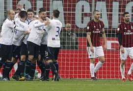 Milan-Atalanta 0-2