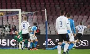 Napoli-Atalanta 1-2