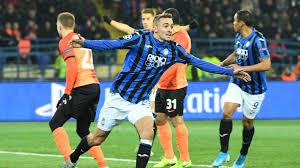 Shaktar Donetsk-Atalanta 0-3