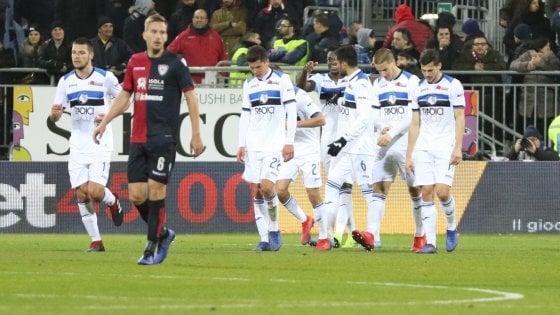 Cagliari-Atalanta 0-2