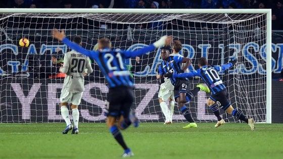 Atalanta-Juventus 3-0