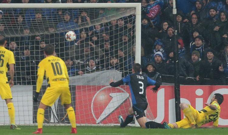 Atalanta-Borussia Dort. 1-1