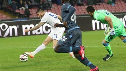 Napoli-Atalanta 1-1