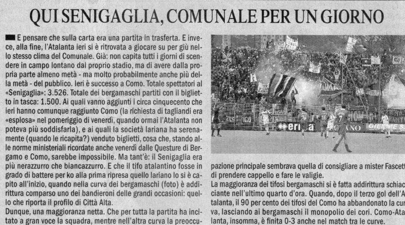 Como-Atalanta 0-3