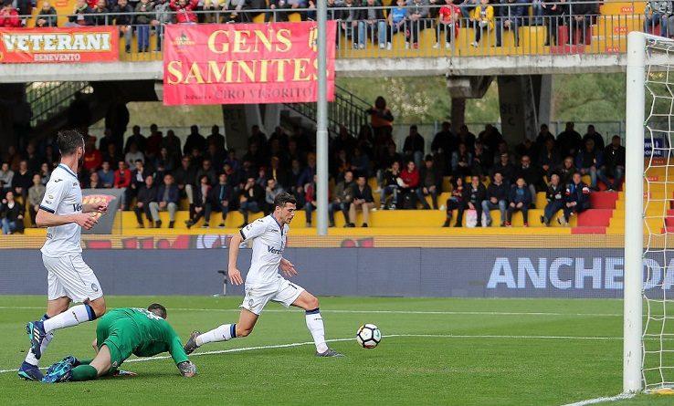 Benevento-Atalanta 0-3