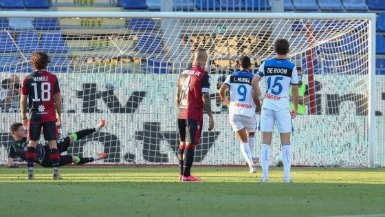 Cagliari-Atalanta 0-1