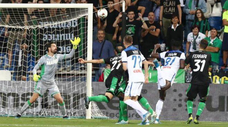 Sassuolo-Atalanta 1-4